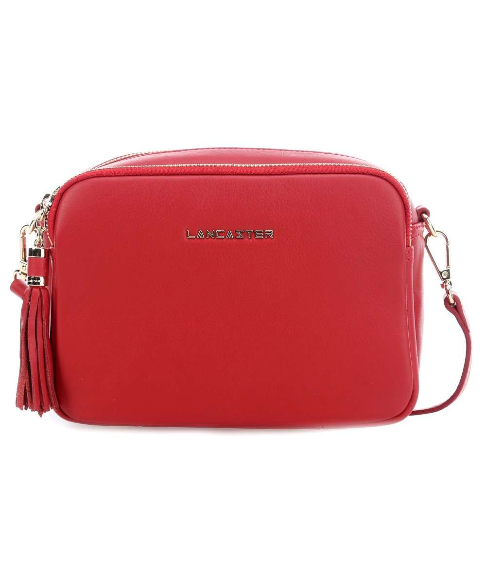 Lancaster Mademoiselle Ana Schultertasche rot Preview