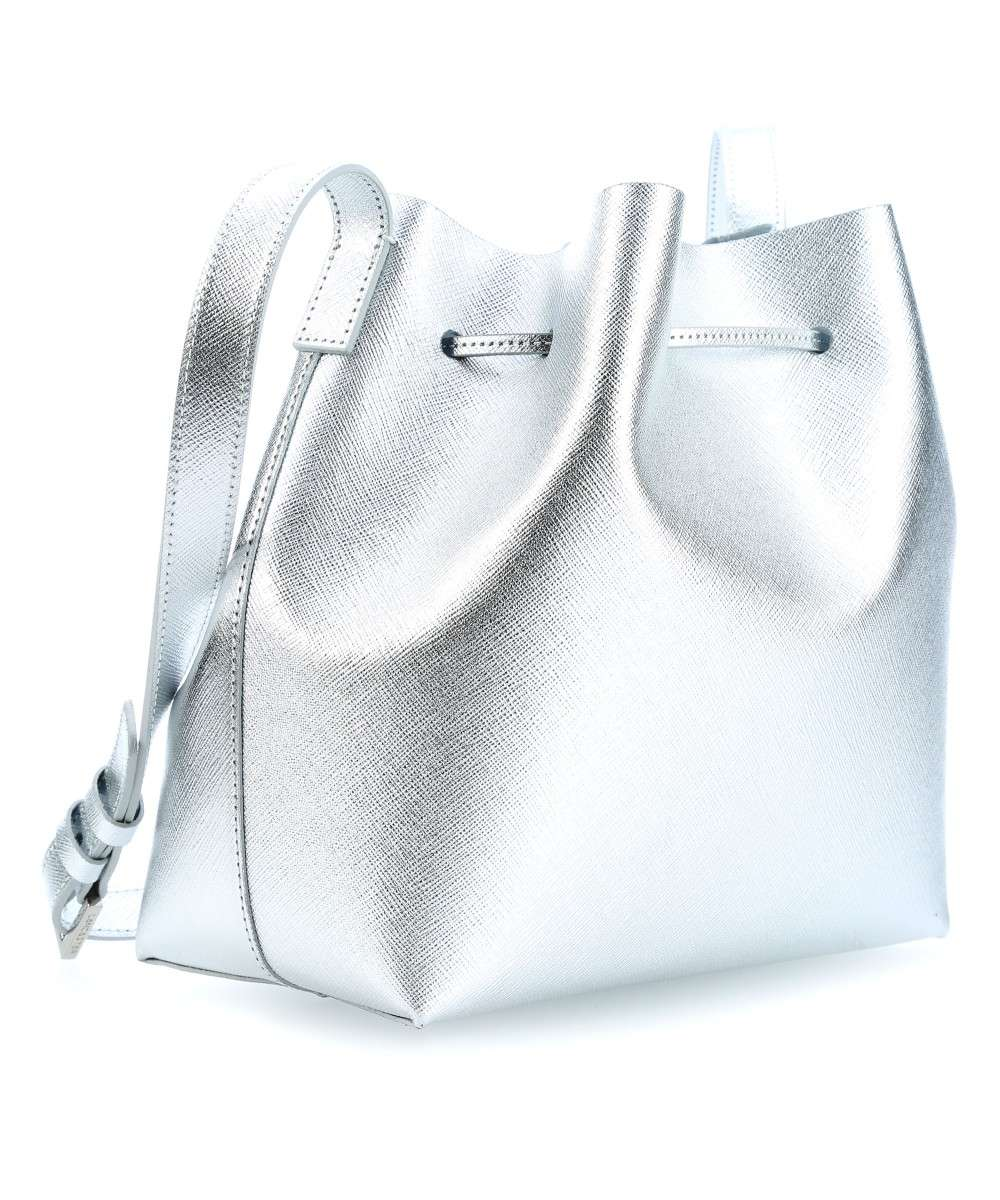 Lancaster Pur Element Saffiano Pur Bucket bag silber-422-18-ARGENT-01 Preview