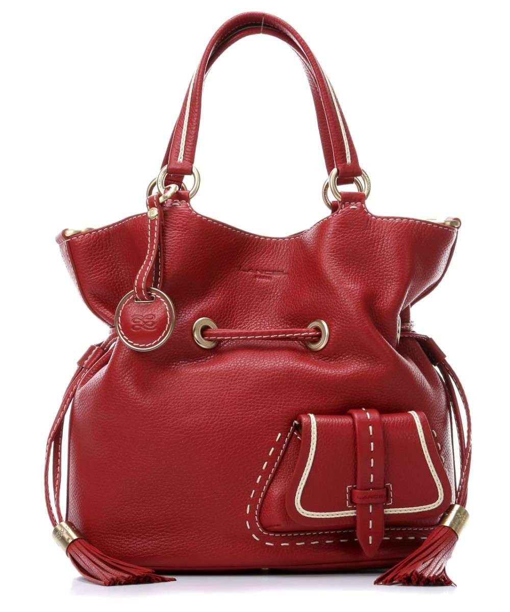 Lancel Premier Flirt Bolso de hobo rojo Preview