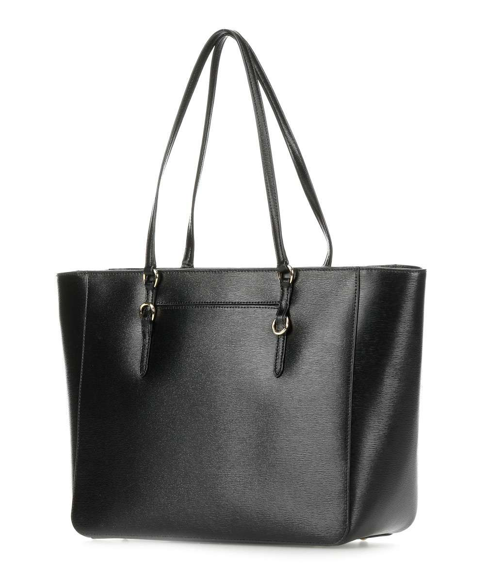 1985a8ec6e412 Lauren Ralph Lauren Bennington Tote bag black-431-687507-001-01 Preview