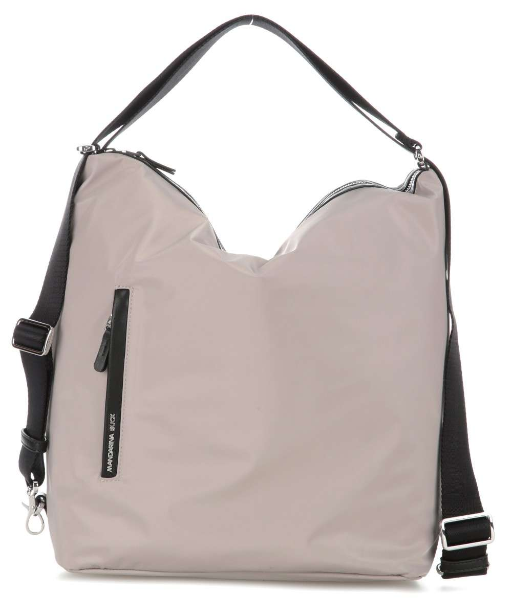 Mandarina Duck Hunter Hobo bag taupe Preview