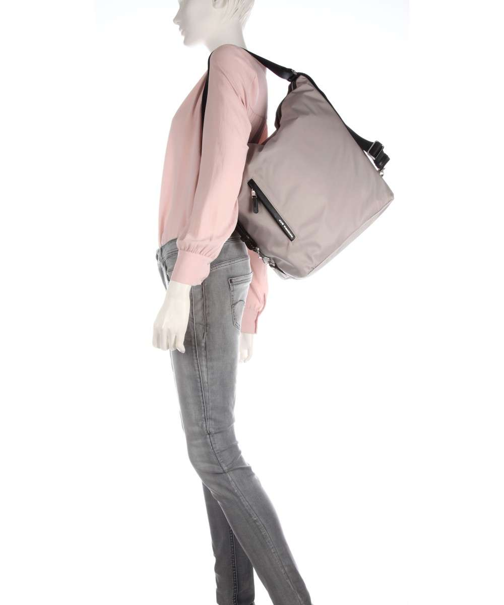 Mandarina Duck Hunter Hobo bag taupe-P10VCT1014L-01 Preview
