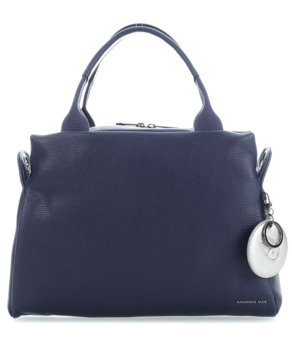 Mandarina Duck Mellow Leather Handtasche dunkelblau Preview