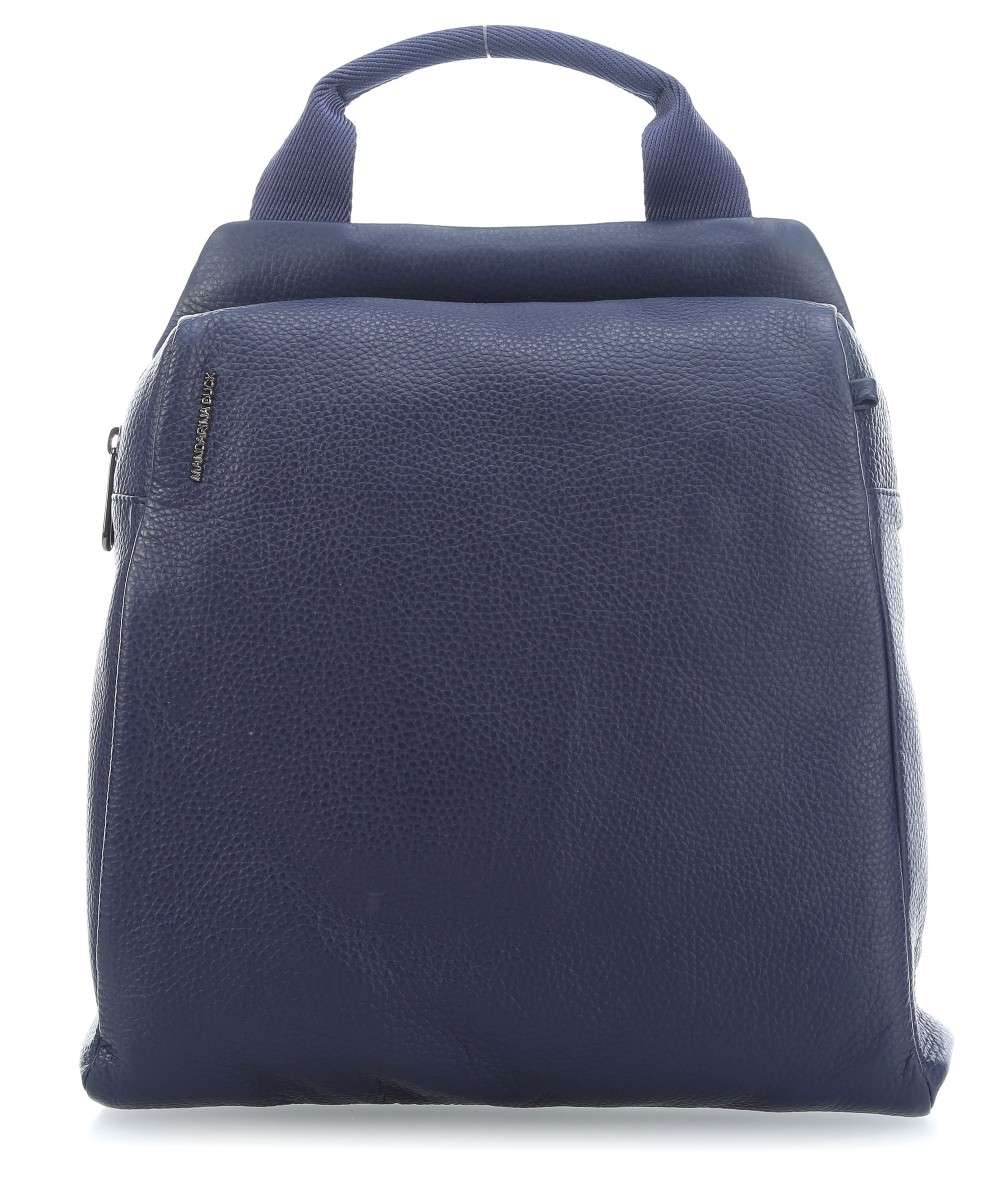 Mandarina Duck Mellow Leather Rucksack dunkelblau Preview
