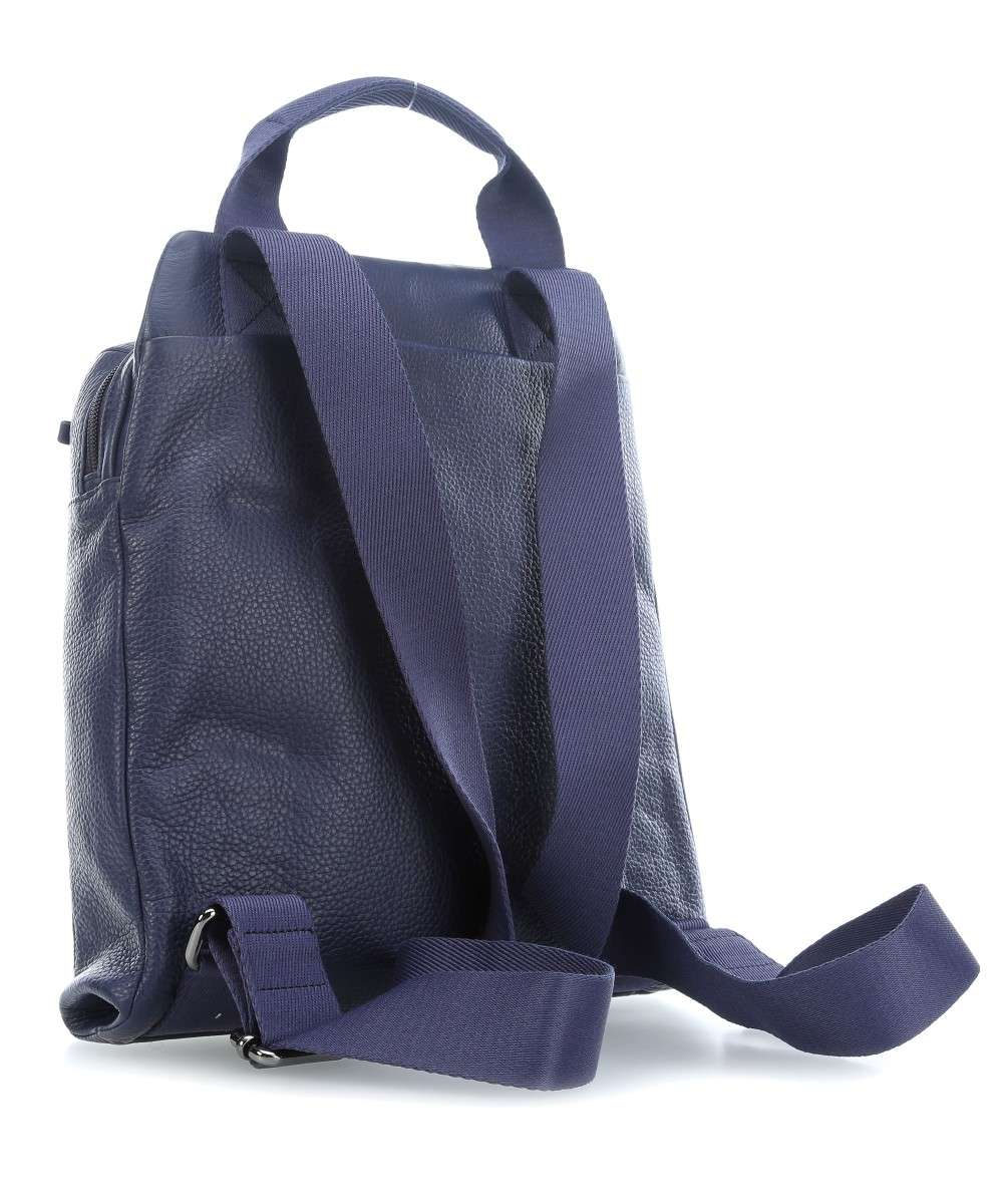 Mandarina Duck Mellow Leather Rucksack dunkelblau-P10FZT6608Q-01 Preview