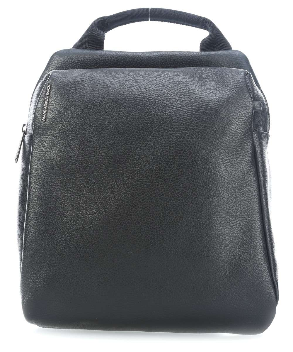 Mandarina Duck Mellow Leather Rucksack schwarz Preview