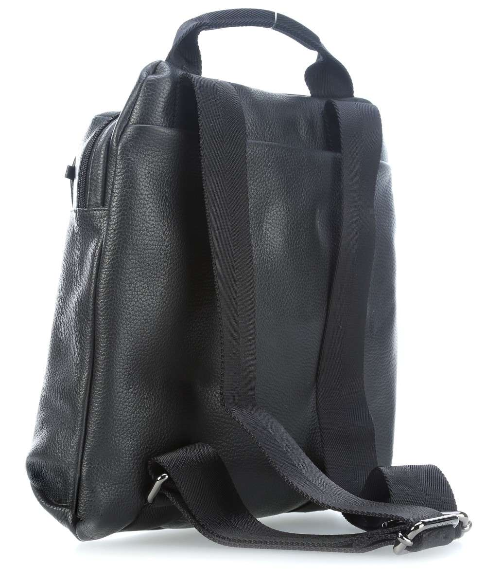 Mandarina Duck Mellow Leather Rucksack schwarz-FZT66001-01 Preview