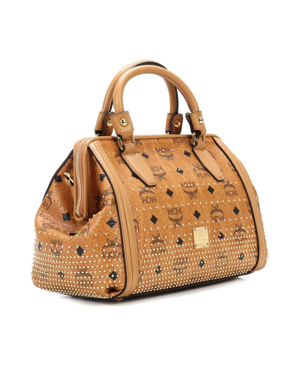 MCM Gold Visetos käsilaukku cognac-MWB4SVI91CO001-01 Preview