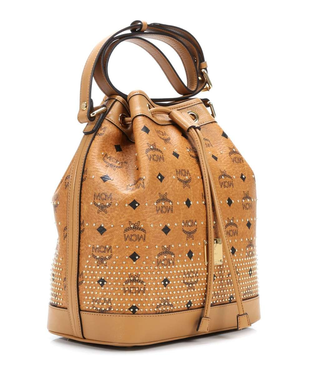 MCM Gold Visetos Pussilaukku cognac-MWD4SVI87CO001-01 Preview
