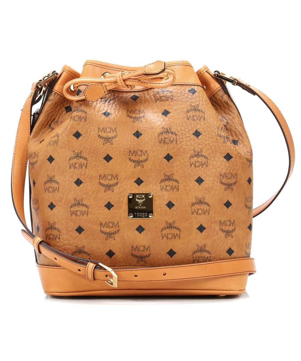 MCM Heritage Line Hobo bag cognac Preview