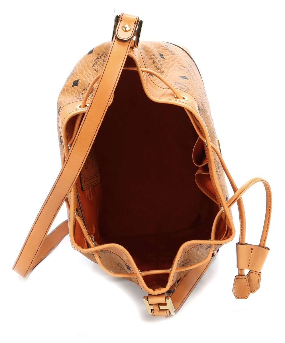MCM Heritage Line Hobo bag cognac-MWD4SVI33CO001-01 Preview