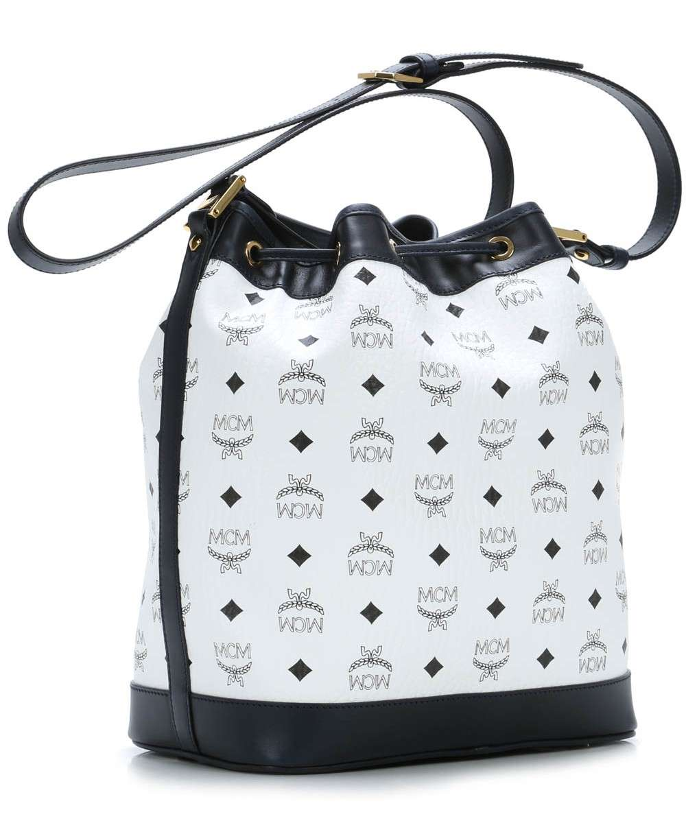 MCM Heritage Line Pussilaukku valkoinen-MWD4SVI33WT001-01 Preview