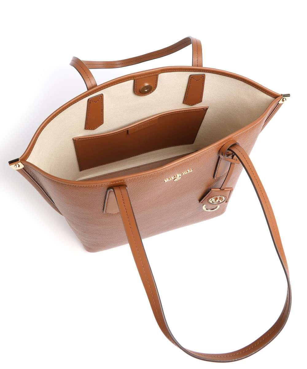Jane Tote bag grained cow leather camel