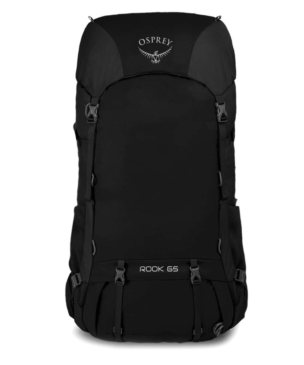 Osprey Rook 65 Trekking backpack coated polyester black - 5-070-0-0 ... 14c3e7d1e69f6