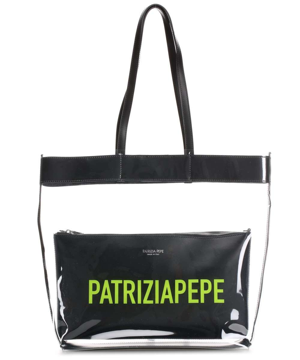 Patrizia Pepe Shopper weiß Preview