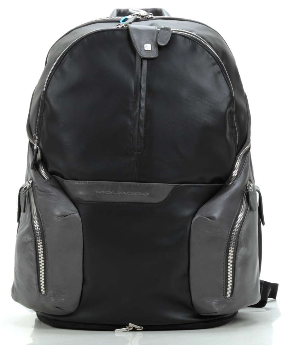 Piquadro Coleos Laptop backpack black Preview