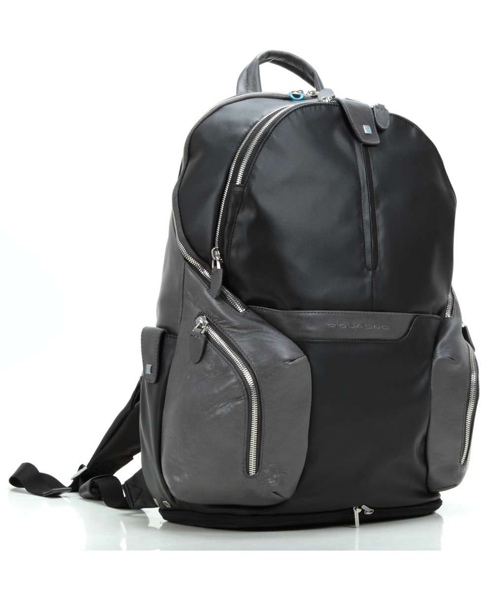 Piquadro Coleos Laptop backpack black-CA2943OS-N-01 Preview