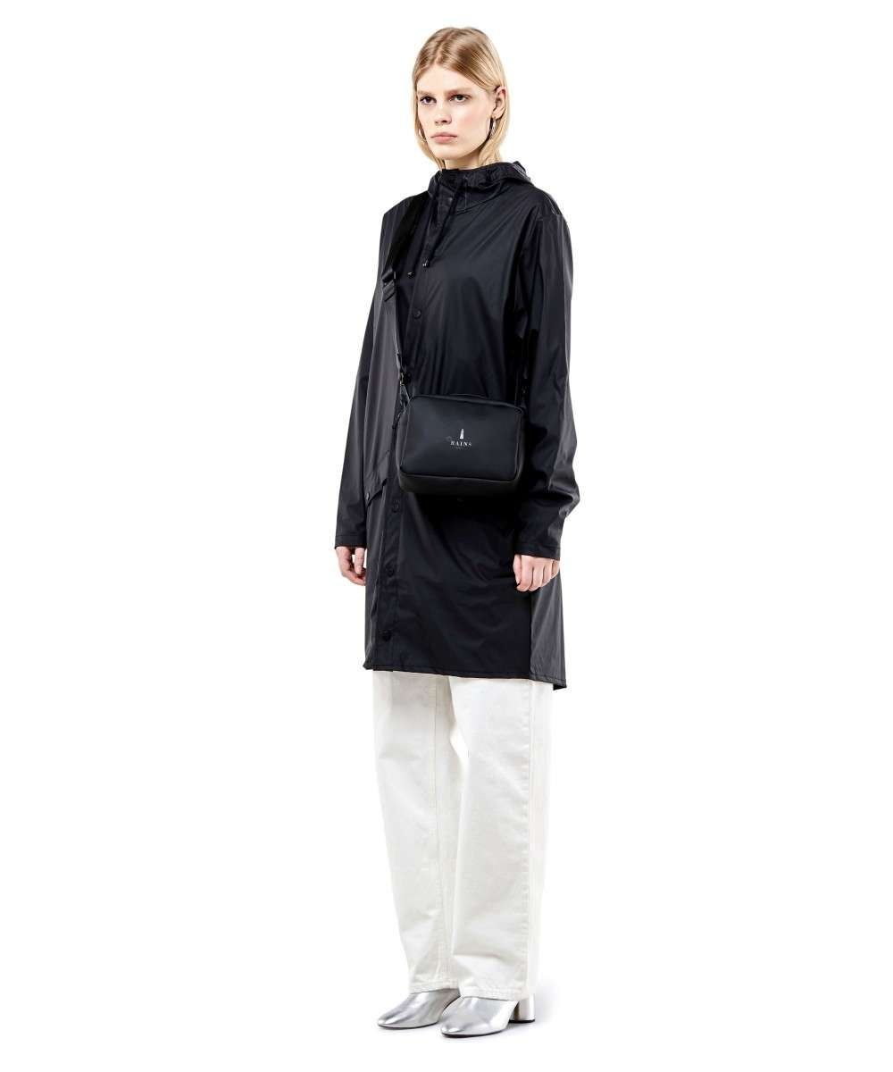 Rains Transparent Box Crossover taske rød-RAINS-1343-39-01 Preview