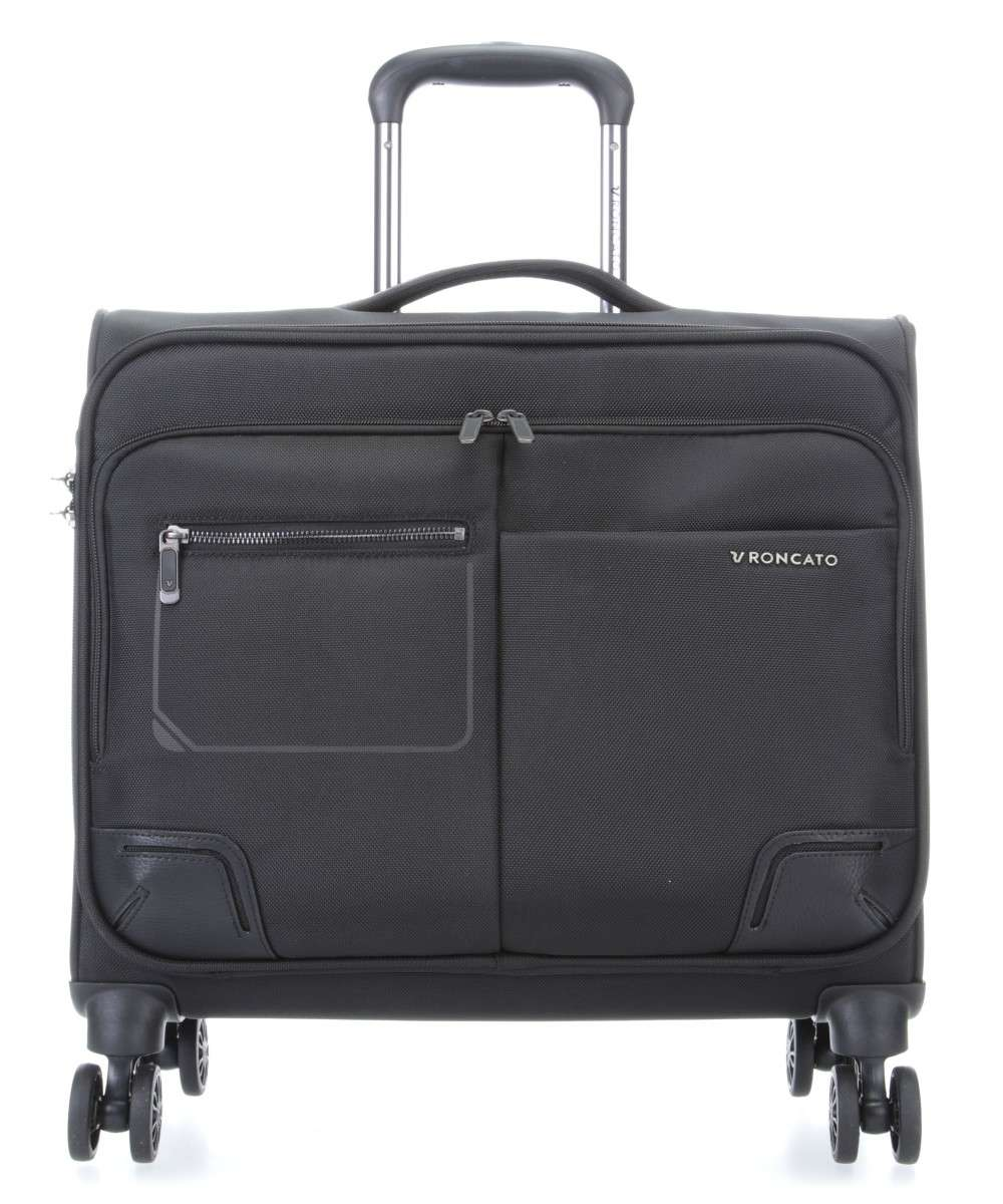 Roncato Wall Street Pilotenkoffer 16″ schwarz Preview