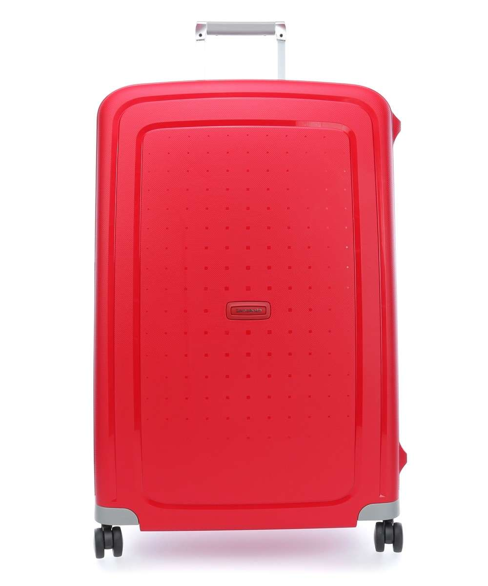 Samsonite S'Cure 4-Rollen Trolley rot Preview