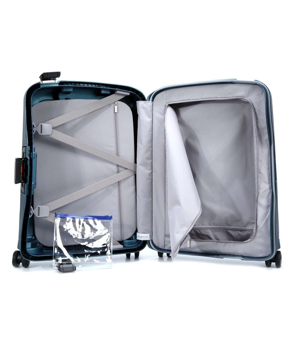 Samsonite SCure DLX Spinner (4 wheels) blue-50919-1542-01 Preview
