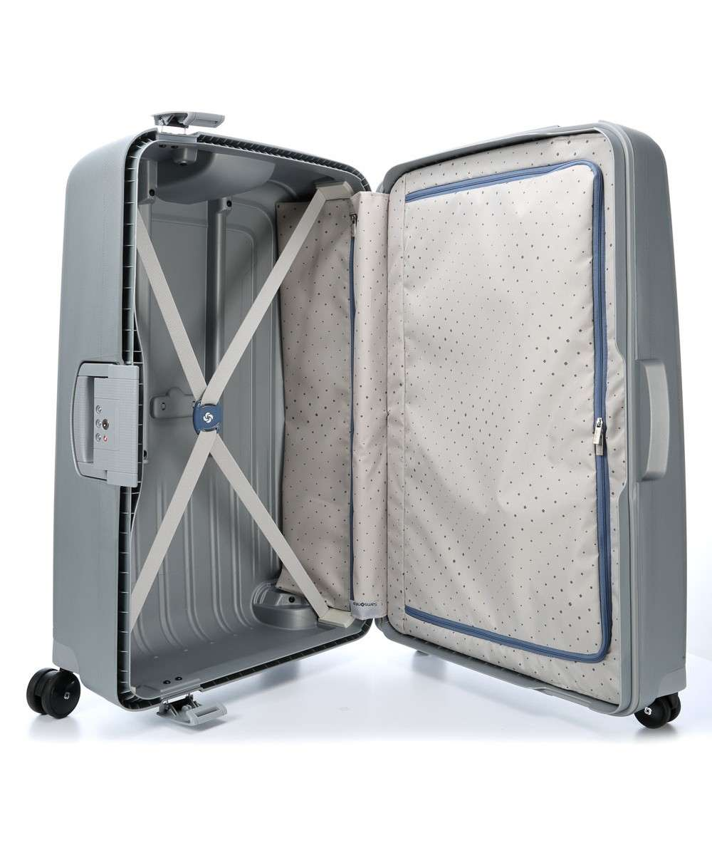 Samsonite SCure Spinner (4 wheels) silver-49308-1776-01 Preview