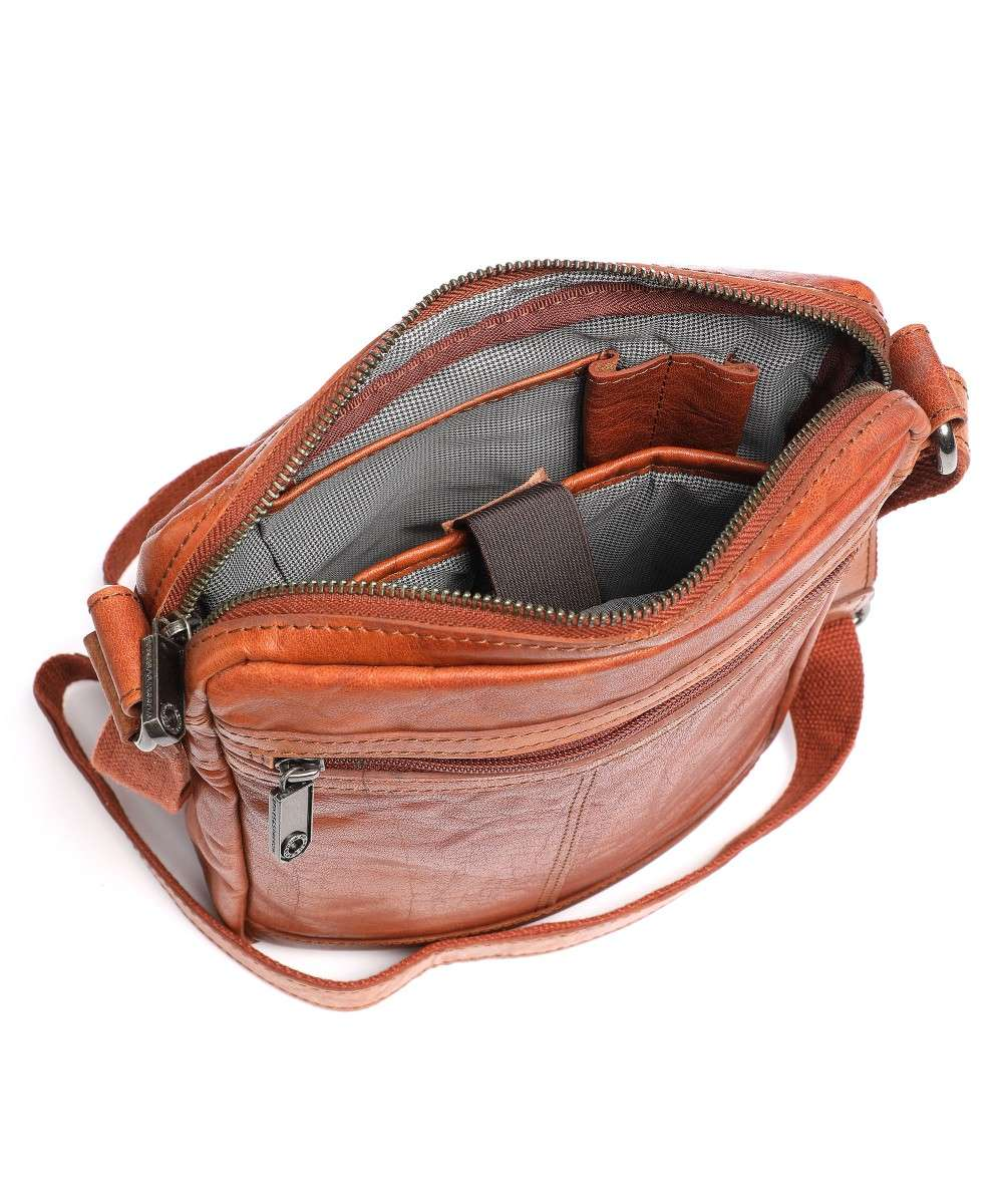 Spikes and Sparrow Bronco Crossbody bag brown-24251N47-01 Preview