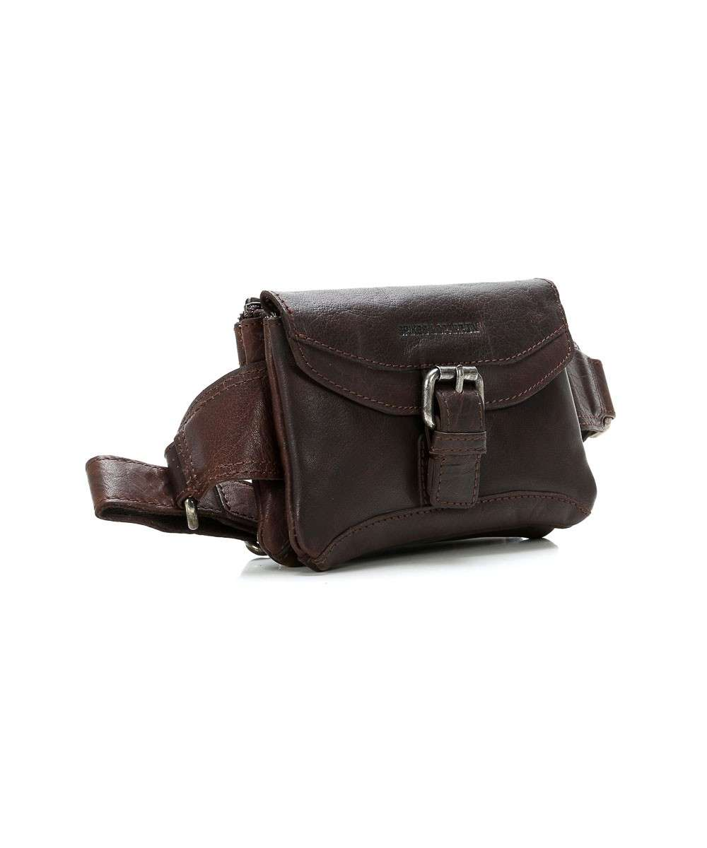 Spikes and Sparrow Bronco Fanny pack dark brown-24235N01-01 Preview