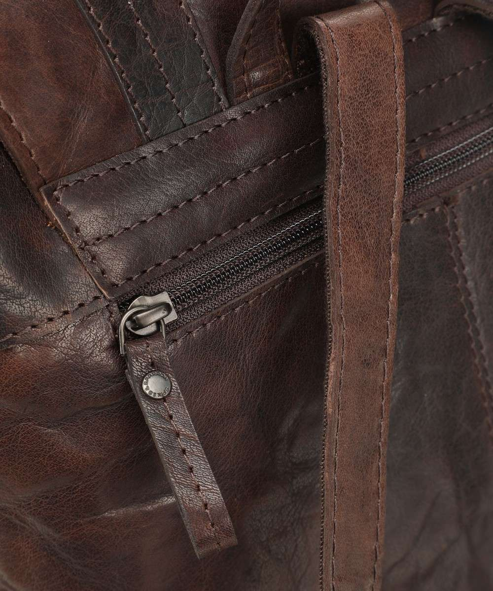 Spikes and Sparrow Bronco Rucksack dunkelbraun-5113001-01 Preview