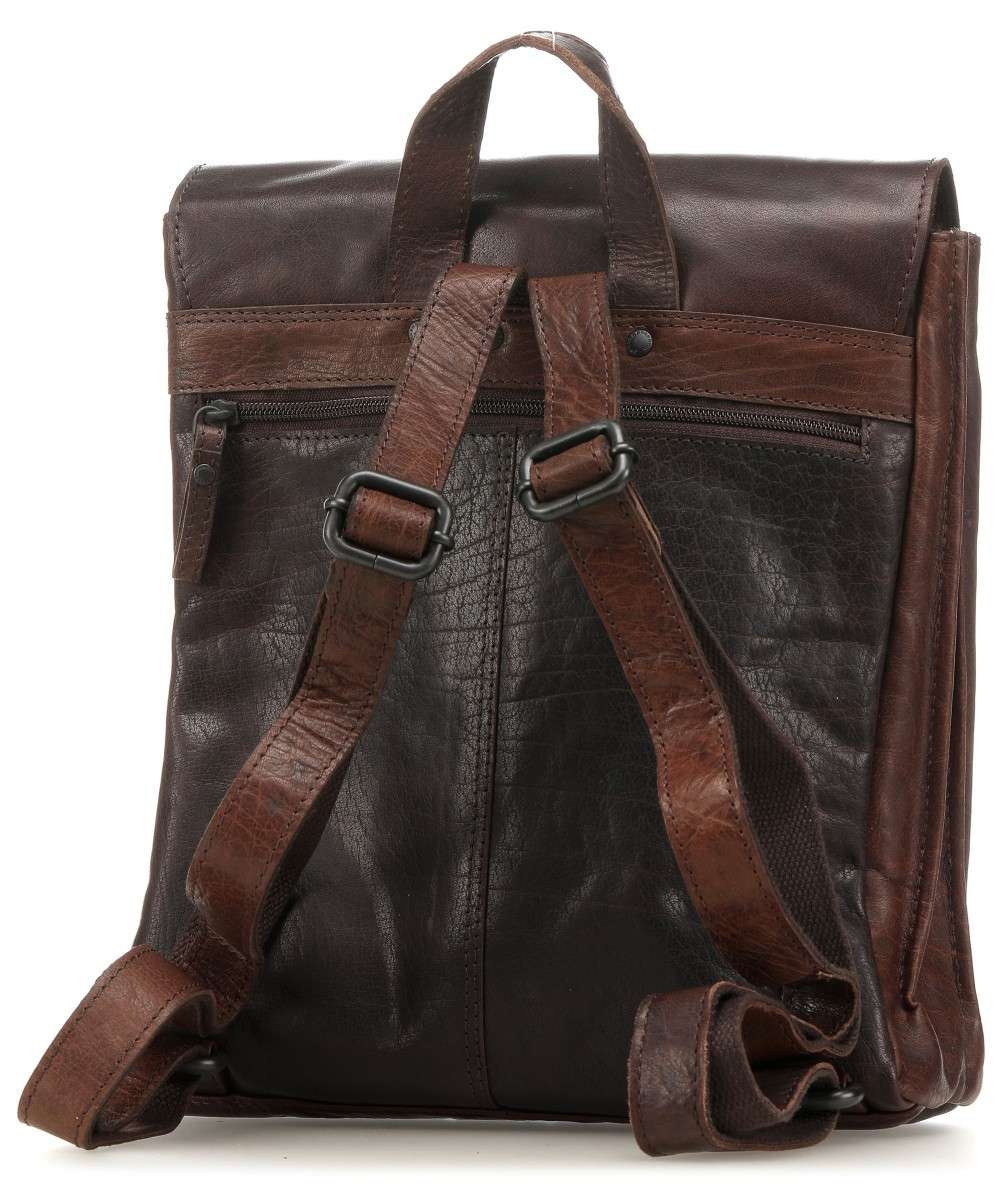 Spikes and Sparrow Bronco Rucksack dunkelbraun-5113101-01 Preview
