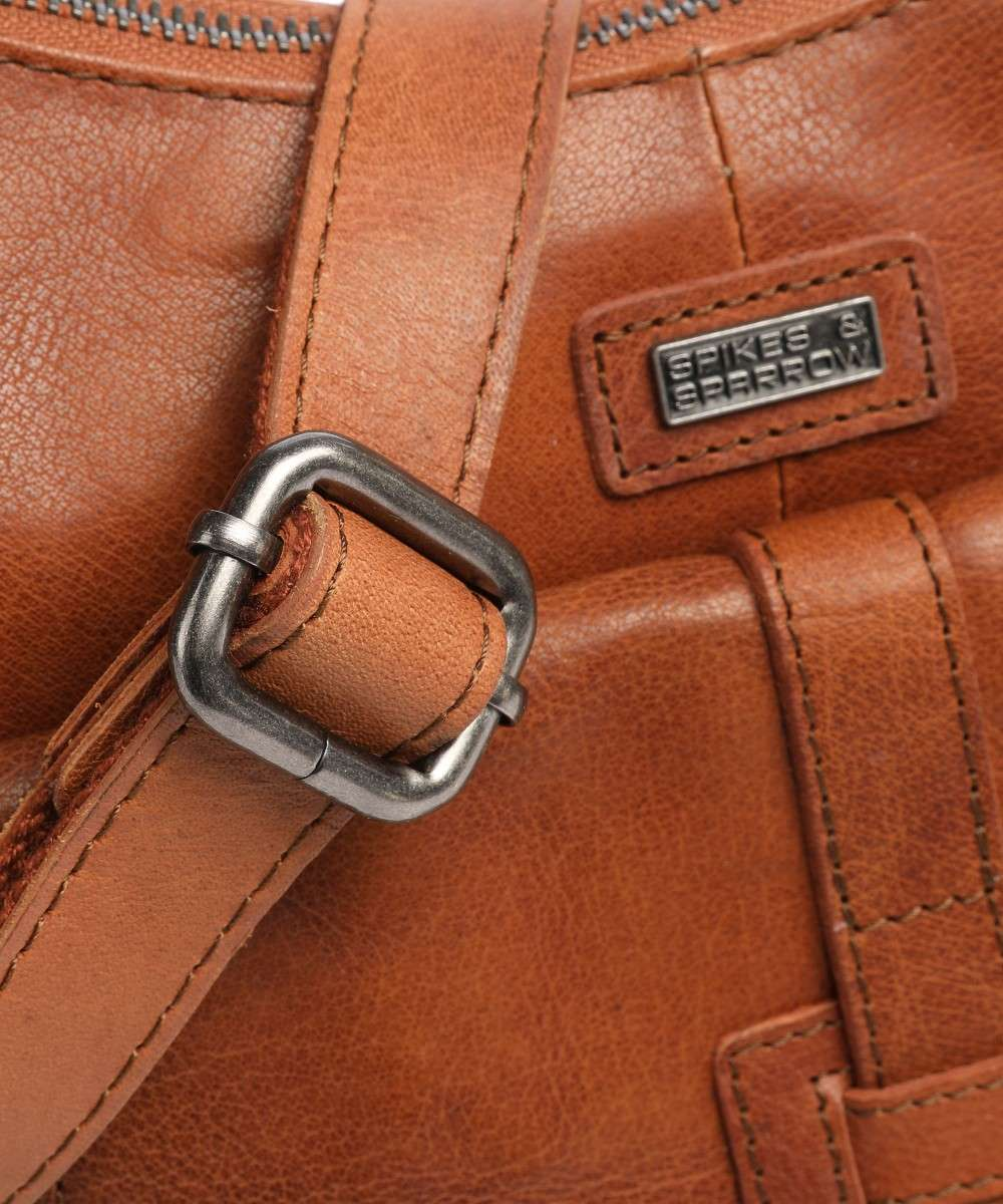 Spikes and Sparrow Bronco Schultertasche cognac-1111047-00 Preview