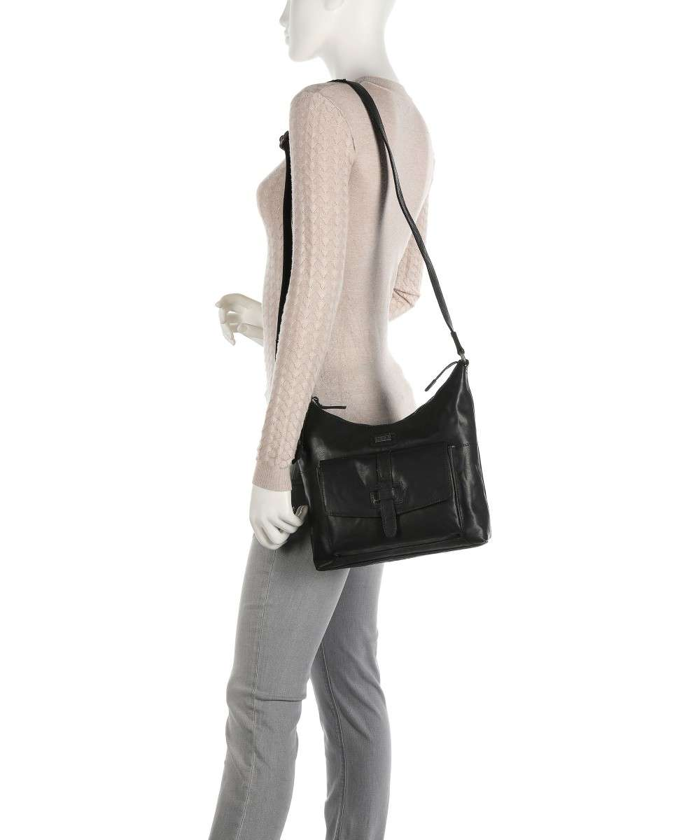 Spikes and Sparrow Bronco Schultertasche schwarz-1111000-00 Preview