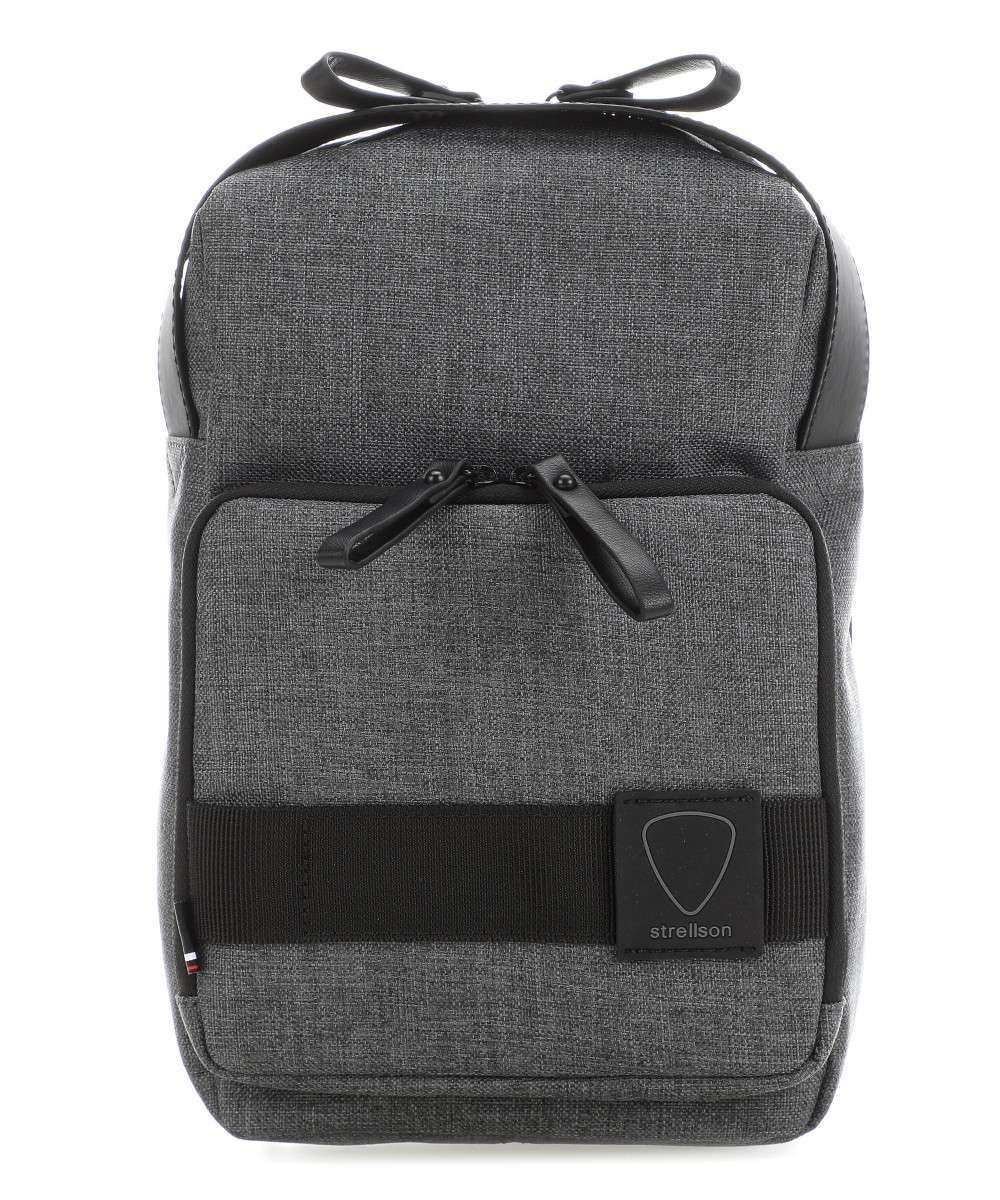 Strellson NORTHWOOD MESSENGER Skulderveske dark grey