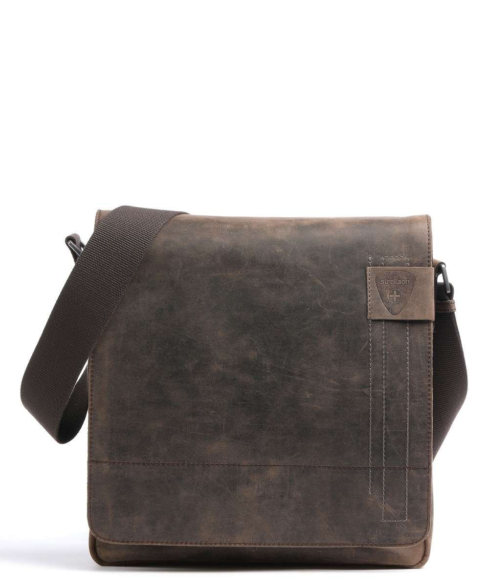Strellson Richmond Crossbody bag dark brown Preview