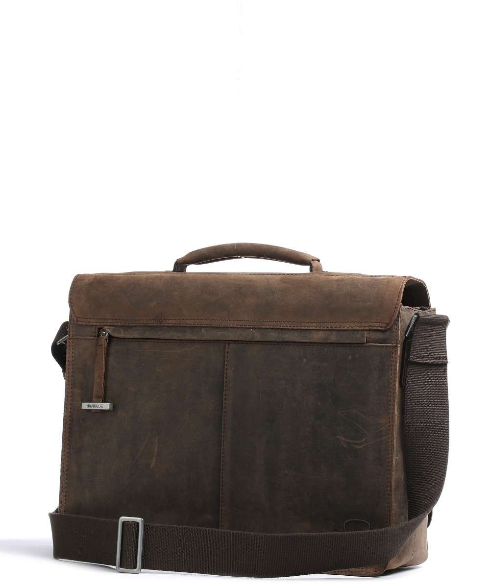 Strellson Richmond Laptop bag dark brown-4010001261-702-01 Preview