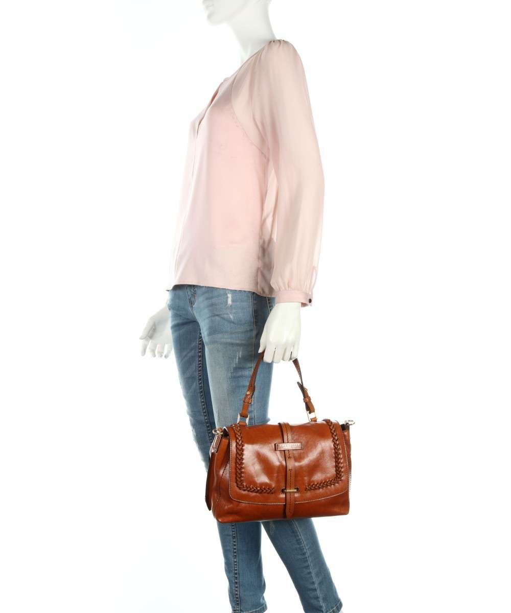 Bridge cognac The pelle Borsa a mano dxvAXx
