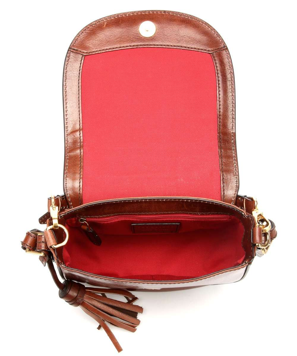 The Borsa marrone Bridge pelle a spalla rFwrW5qa