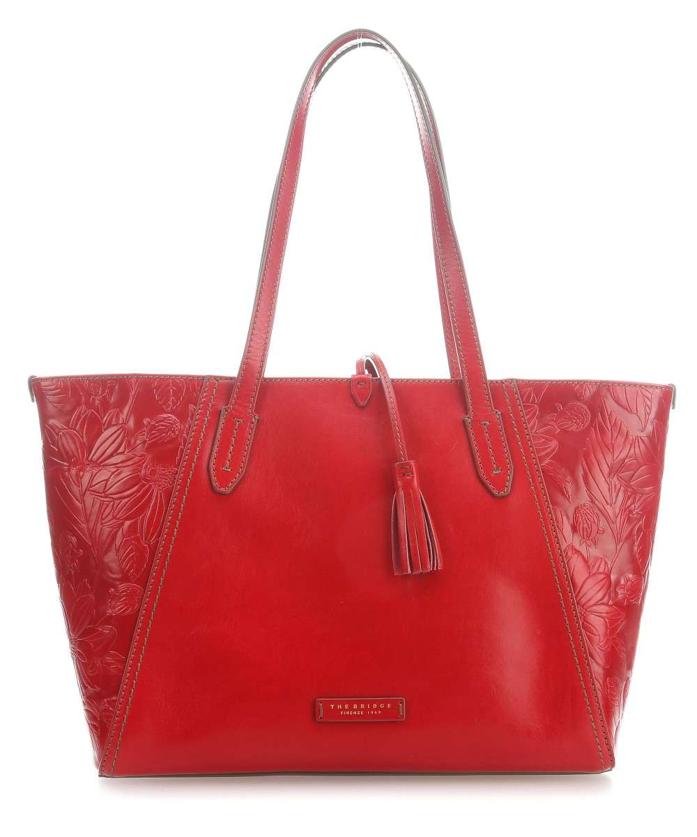 The Bridge Capraia Shopper cherry Preview