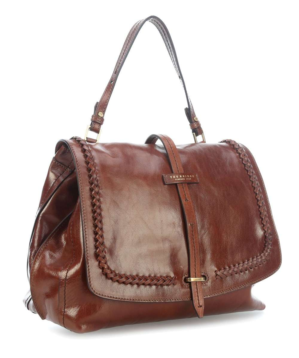 f7d1d980dc20d The Bridge Murakami Handbag leather brown - 0413274B-14