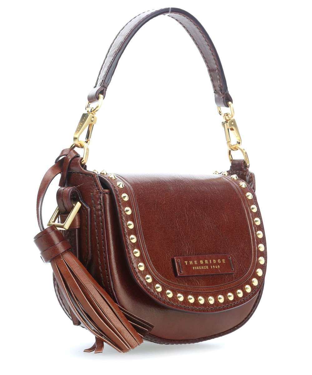 Rock pelle a Borsa Bridge spalla The marrone Oqx65wC