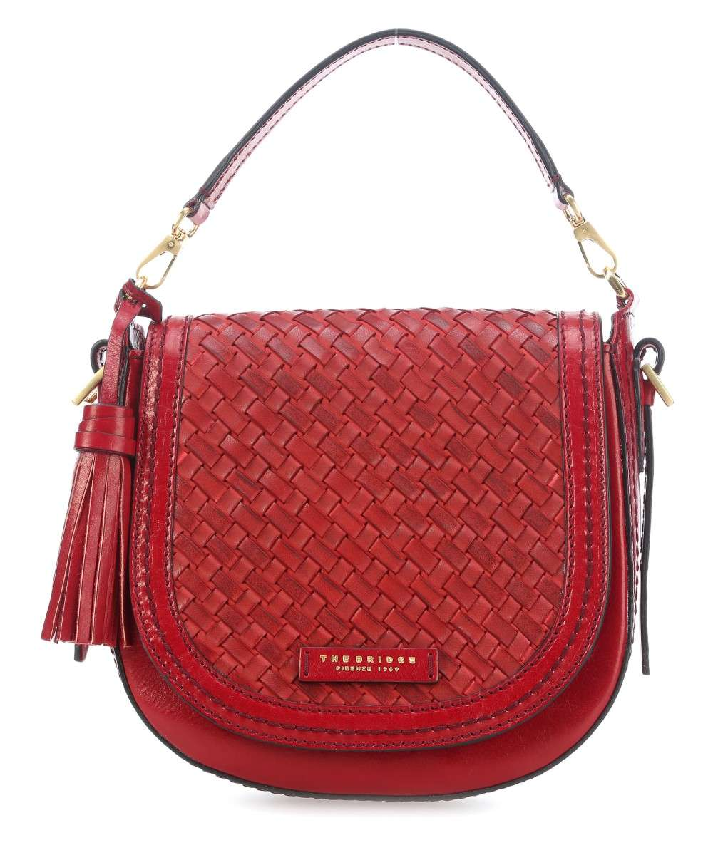 The Bridge Salinger Schultertasche rot Preview