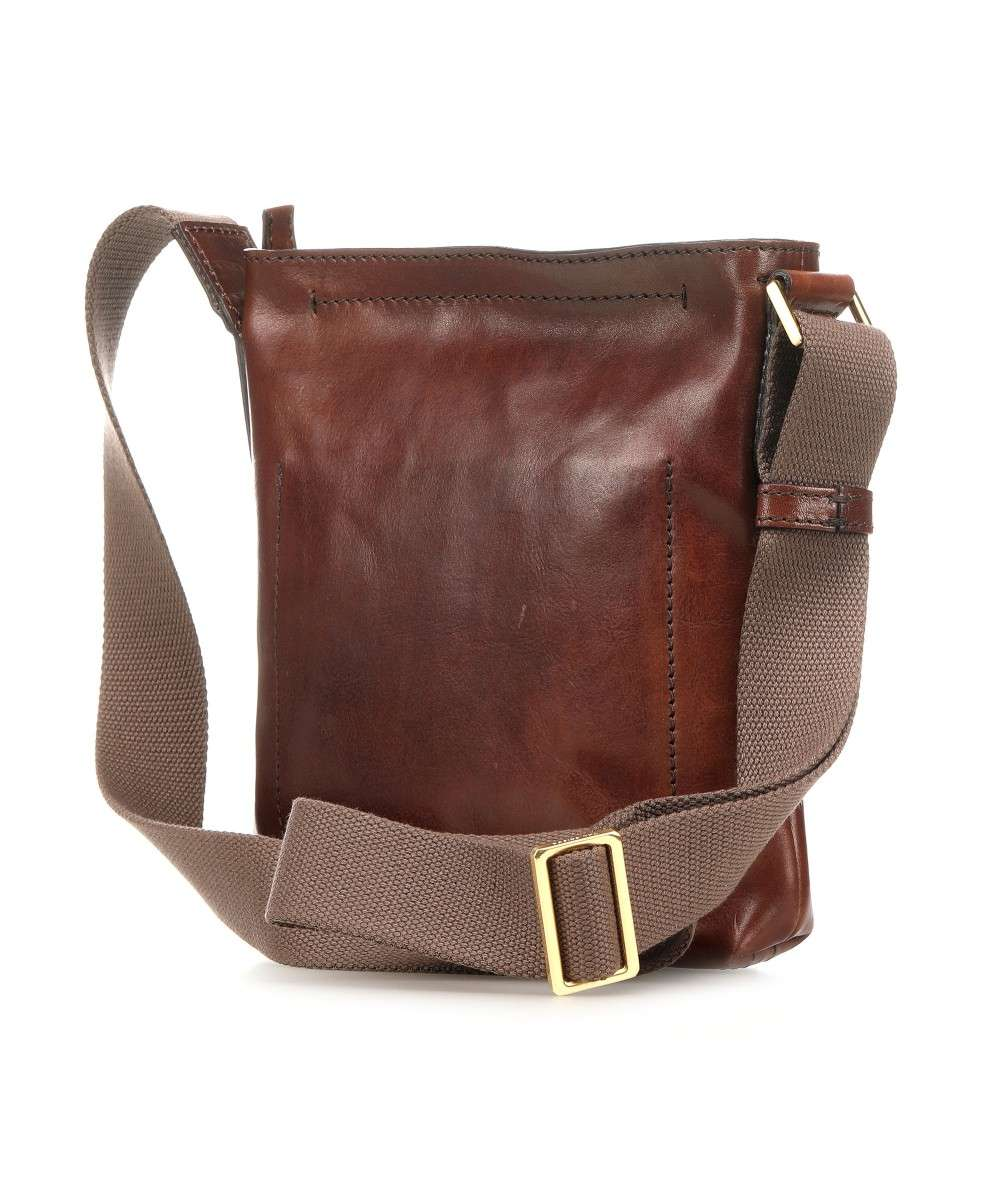 27d682995837c9 The Bridge Sfoderata Luxe Uomo Crossbody bag leather brown - 054031 ...