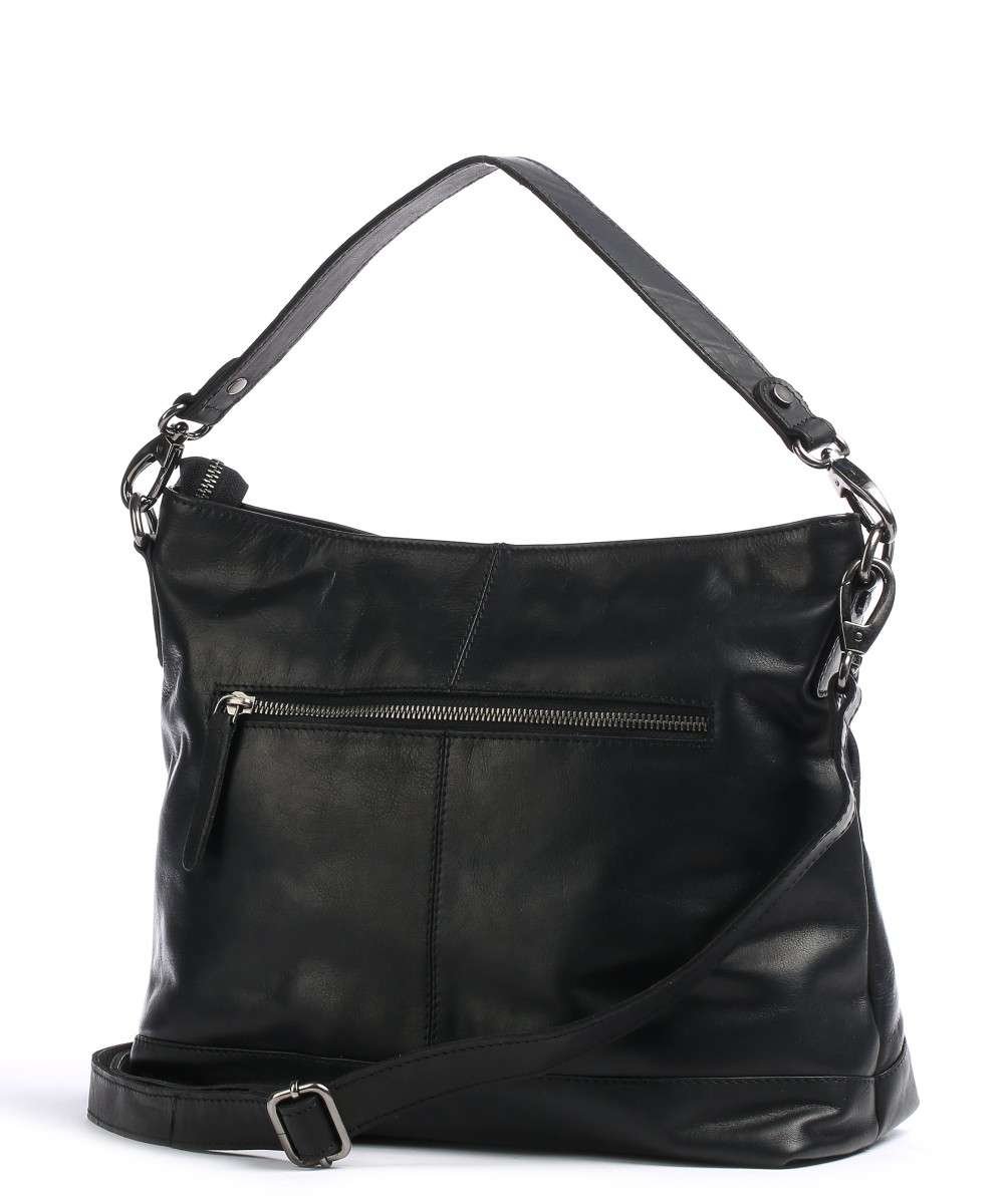 The Chesterfield Brand Amelia Hobo bag pull-up cow leather black ... 74c5287039
