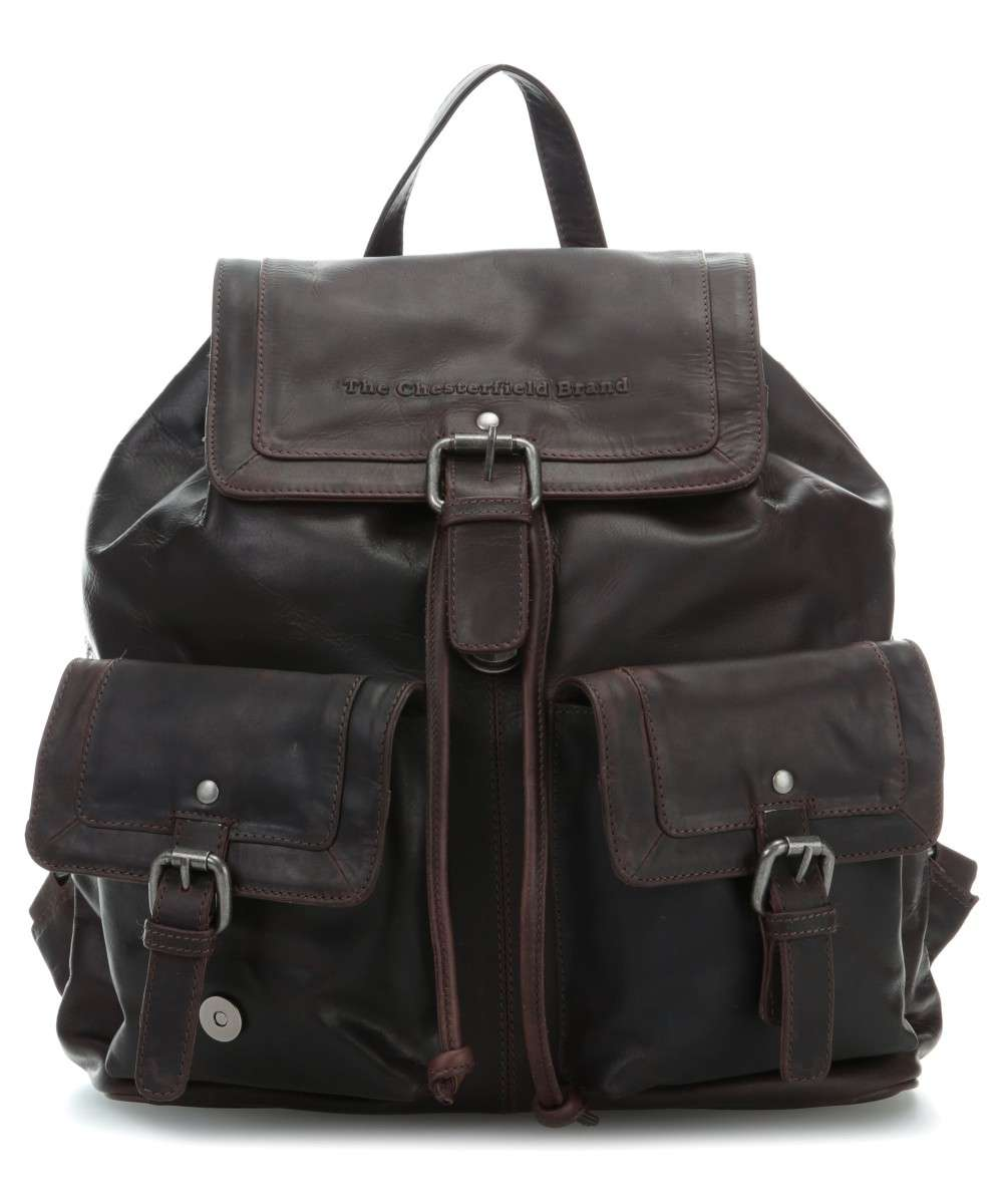 The Chesterfield Brand Joey Rucksack dunkelbraun Preview