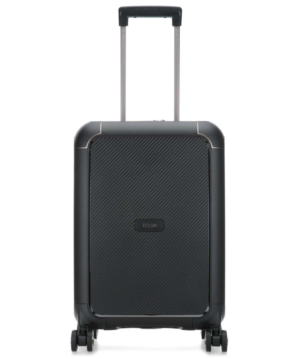 Titan Compax 4-Rollen Trolley schwarz 55 cm Preview