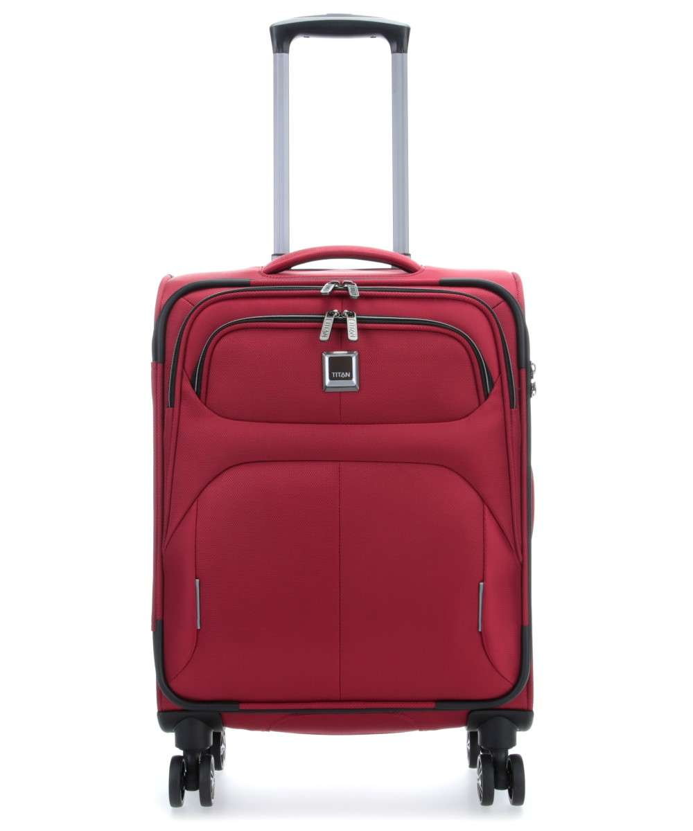 Titan Nonstop 4-Rollen Trolley rot 55 cm Preview