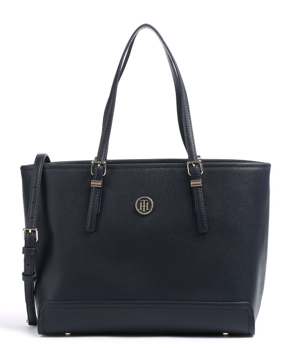 c417d6004e Tommy Hilfiger Honey Tote bag synthetic dark blue - AW0AW04547-413 ...