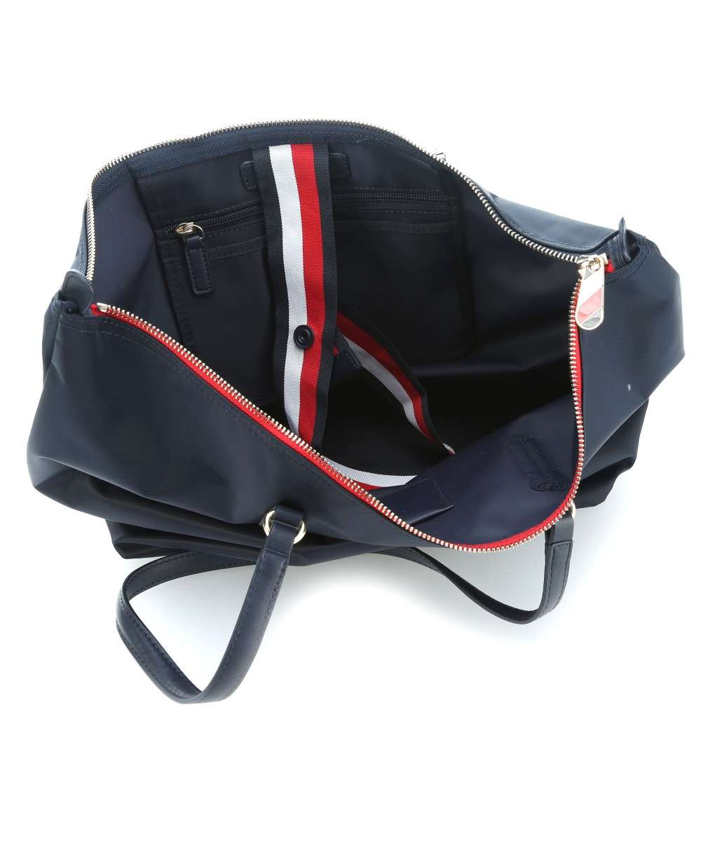c6ce95c3d5dc Tommy Hilfiger Poppy Tote bag navy-AW0AW04302-413-01 Preview