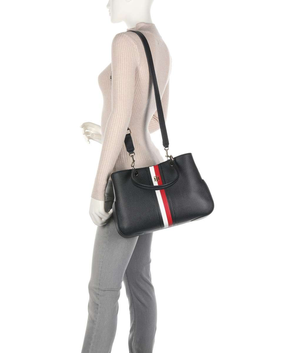 Tommy Hilfiger TH Essence Handtasche navy-AW0AW10115-DW5-01 Preview