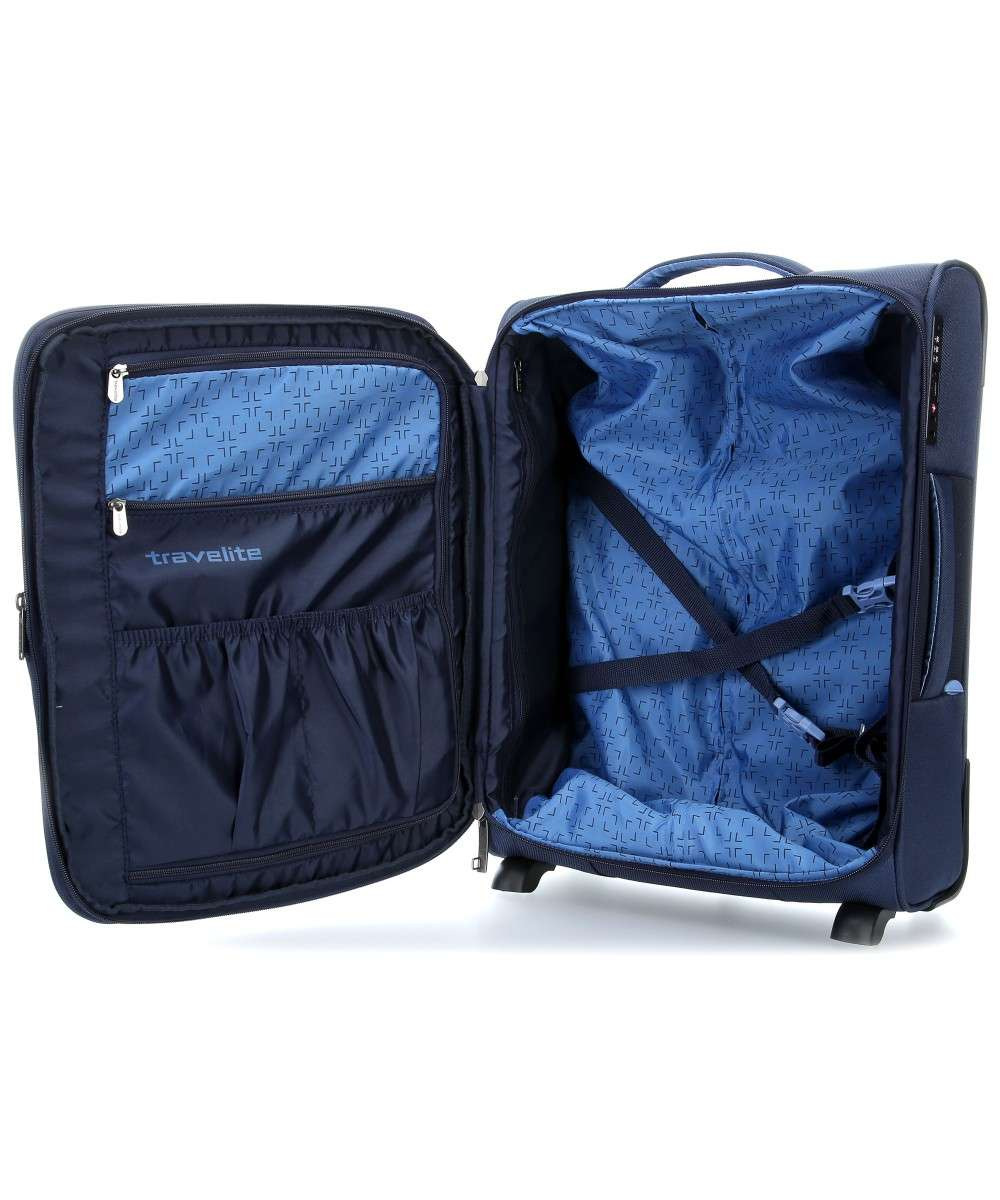 Travelite Capri 2-Rollen Trolley navy 53 cm-89807-20-00 Preview